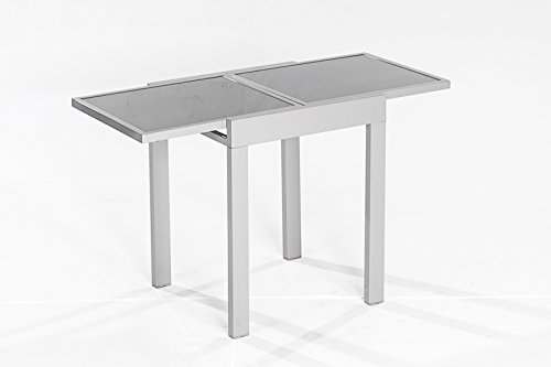 Balkontisch-AMALFI-aus-Aluminium-und-Glas-65x65cm-ausziehbar-auf-65x130cm-0