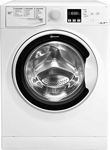 Bauknecht FWL 8F4 Waschmaschine Frontlader/A+++/1400 UpM/langlebiger Motor/Nachlegefunktion/Wasserschutz/weiß[Energieklasse A+++]