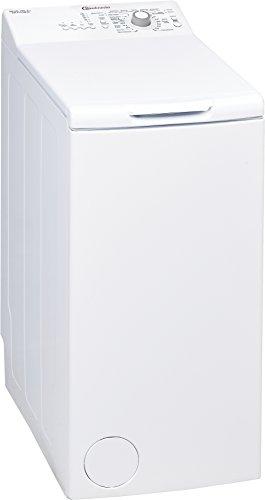 Bauknecht WAT Prime 550 SD Waschmaschine TL / A++ / 160 kWh/Jahr / 1000 UpM / 5,5 kg / Kurz 15 schnelle Wäsche in 15 min /Mengenautomatik / weiß