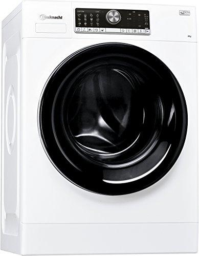 Bauknecht WM Style 824 ZEN Waschmaschine Frontlader/A+++ B/1400 UpM/8 kg/weiß/sehr leise mit 48 dB/Mehrsprachiges Display
