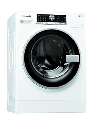 Bauknecht WM Trend 924 Zen Waschmaschine Frontlader / 1400 UpM / 9 kg /weiß / leise durch Direktantrieb /Mehrsprachiges Touch-Display / Nachlegefunktion