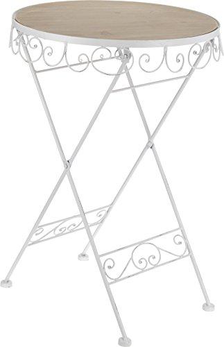 Beistelltisch-Gartentisch-Metall-Holz-36-x-36-x-525-cm-0