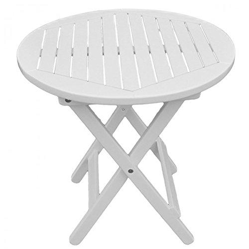 Beistelltisch-MESA-Eukalyptus-Holz-50x50-rund-wei-lackiert-klappbar-Gartentisch-Gartenmbel-Klapptisch-0