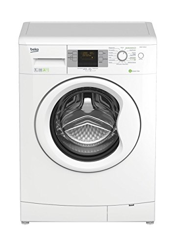 Beko WMB 71443 LE Waschmaschine Frontlader/A+++/1400 UpM/0,739 kWh/7 kg/Weiß/51 L/Multifunktionsdisplay/16 Waschprogramme/Brushless DC-Motor