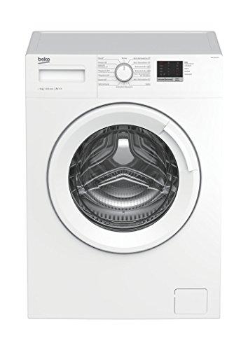 Beko WML 61423 N Waschmaschine Frontlader / 6kg / A+++ / 1400 UpM / Mengenautomatik / weiß / 15 Programme / Express-Programm 30 Minuten / elektronische Kindersicherung