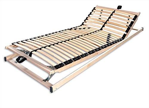 Betten-ABC-4250639145788-Max1-K-plus-F-Lattenrost-fertig-montiert-mit-Kopf-und-Futeilverstellung-Holm-durchgehend-Gre-140-x-200-cm-0