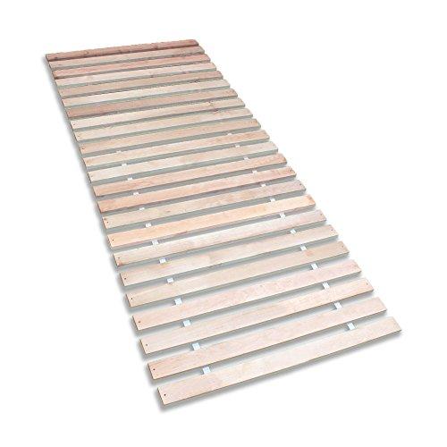 Betten-ABC-4250639147652-Premium-Rollrost-Stabiles-Erlenholz-mit-23-Leisten-und-Befestigungsschrauben-Gre-140-x-200-cm-0