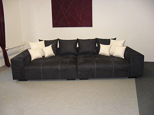 Big Sofa – Made in Germany – Bezug Noble Lux - Freie Farbwahl ohne Aufpreis aus ca. 70 Farben – Nahezu jedes Sondermaß möglich! Sprechen Sie uns an. Info unter 05226-9845045 oder info@highlight-polstermoebel.de
