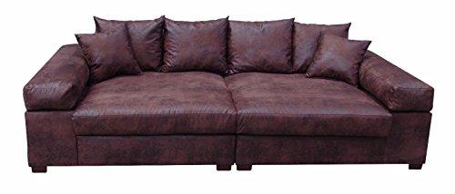Big-Sofa-Couch-Garnitur-XXL-Megasofa-Riesensofa-Wohnlandschaft-Ultrasofa-braun-0