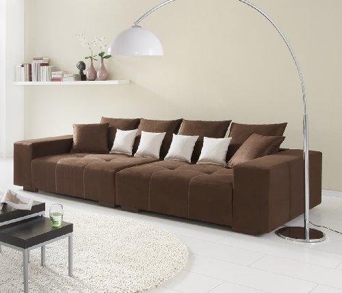 Big Sofa - Made in Germany - Bezug Alcatex Noble Lux - Freie Farbwahl ohne Aufpreis aus ca. 70 Farben - Nahezu jedes Sondermaß möglich! Sprechen Sie uns an. Info unter 05226-9845045 oder info@highlight-polstermoebel.de