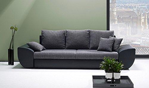 Big-Sofa-mit-Schlaffunktion-und-Bettkasten-in-schwarzgrau-Rckenecht-bezogen-mit-Wellenfederpolsterung-Mae-BHT-ca-2729096-cm-0