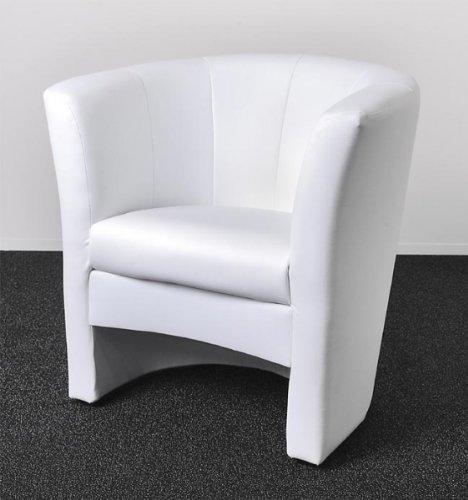 BlackRedWhite-Cocktailsessel-PEPE-in-Wei-Sessel-Kunstleder-Wei-100-Polyurethan-0