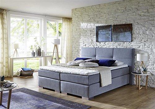 Breckle Boxspringbett 180 x 200 cm Cinderella Box mit Stauraum 500 Hollanda 1000 Gel Topper Gel Comfort