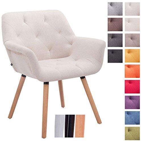 CLP-Besucher-Stuhl-CASSIDY-Stoff-Bezug-belastbar-bis-150-kg-Retro-Stuhl-mit-Armlehne-sesselfrmiger-Sitz-gepolstert-Sitzhhe-45-cm-0
