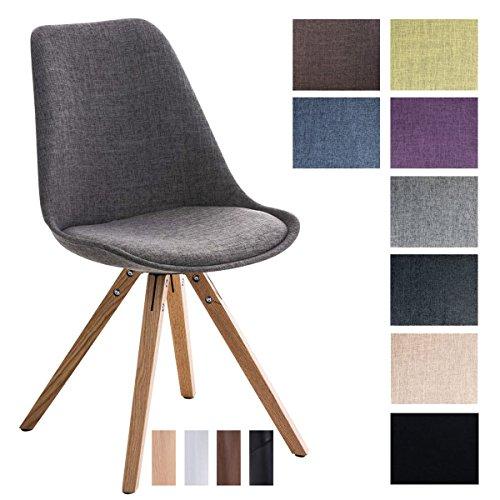 CLP-Design-Retro-Stuhl-PEGLEG-SQUARE-mit-Stoffbezug-Gepolsterter-Schalenstuhl-mit-Holzbeinen-und-einer-Sitzhhe-46-cm-0