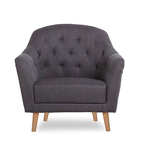 CLP-Polster-Sessel-LOVIS-mit-Stoffbezug-stilvolle-Ziernhte-und-dicke-Polsterung-langlebiger-Sitzkomfort-FARBWAHL-grau-0