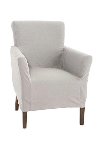 CLP-Polster-Sessel-VIVIAN-mit-abnehmbarer-Husse-bietet-langlebigen-Sitzkomfort-Sitzhhe-48-cm-FARBWAHL-grau-0