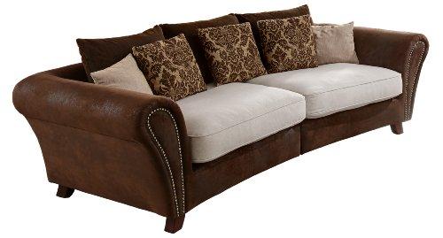 Cavadore-500-Big-Sofa-Bajla-257-x-75-85-x-120-cm-Inari-beige-22-Antik-chocco-0