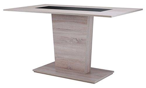 Cavadore-82023-Sulentisch-Holz-Melamin-Eiche-0
