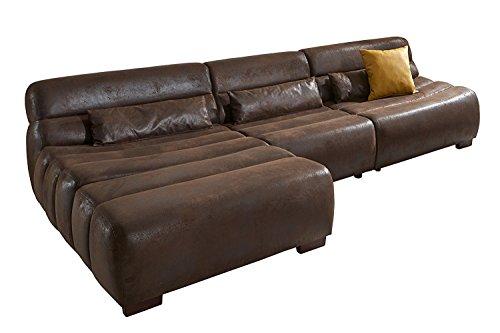 Cavadore-Polsterecke-Scoutano-in-Antiklederoptik-mit-Longchair-LinksSofa-L-Form-mit-XXL-Longchair-im-Industrial-Design-0