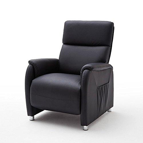 Cinema-Kino-Sessel-Dani-Relaxsessel-Fernsehsessel-Lederlook-schwarz-verstellbar-0
