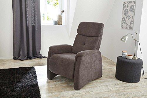 Cinema-Sessel-Kino-Sitz-Fernsehsessel-Heimkino-Loungesessel-Dunkelgrau-Microfaser-Rckenverstellung-Fuverstellung-Nosagfederung-Federkern-0