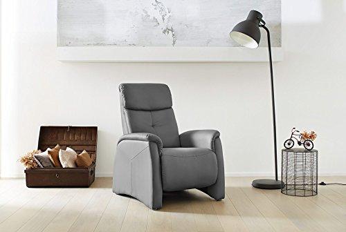Cinema-Sessel-Kino-Sitz-Fernsehsessel-Heimkino-Loungesessel-Grau-Kunstleder-Rckenverstellung-Fuverstellung-Nosagfederung-Federkern-0