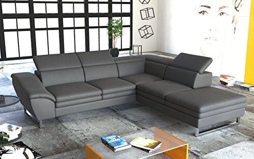 Couchgarnitur Ecksofa Sofagarnitur Sofa MICHELINI 1 Wohnlandschaft Schlaffunktion