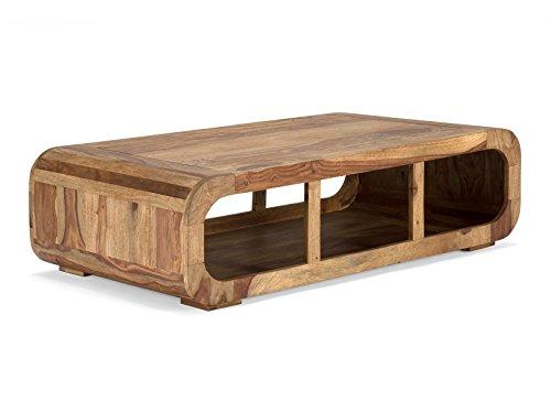 Couchtisch 120x60 aus Palisanderholz Monrovia