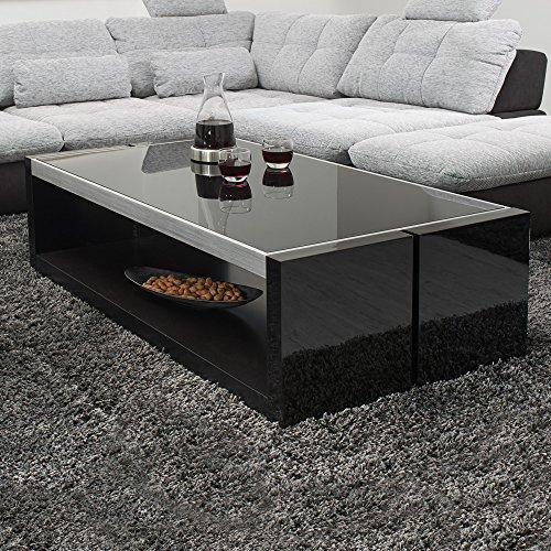 couchtisch evo 130 70 hochglanz und matt lack tisch. Black Bedroom Furniture Sets. Home Design Ideas