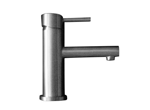DeLanwa Massiv Edelstahl Waschtisch Armatur Bad B24 Einhandmischer, 602240.0