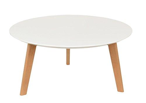Design-Beistelltisch-80-cm-rund-Holz-Wei-Kaffeetisch