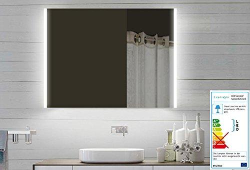 Design LED Badezimmerspiegel Badspiegel Lichtspiegel mit Led Beleuchtung 80 x60 cm