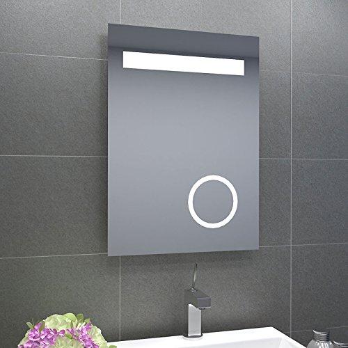 Design led badezimmerspiegel badspiegel lichtspiegel mit schminkspiegel mit beleuchtung ip44 - Schminkspiegel mit beleuchtung ...