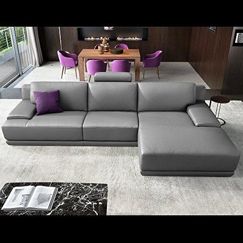 design leder eckcouch ecksofa sofa couchgarnitur. Black Bedroom Furniture Sets. Home Design Ideas