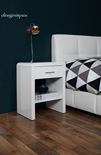 Design-Nachttisch-Boxspringbett-Nachtkommode-SN-1-wei-Hochglanz-NEU-0
