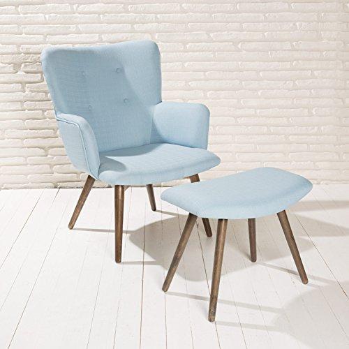 Design-Polstersessel-Sessel-Roma-himmel-blau-Armlehnenstuhl-Fubank-Stoff-Holz-0