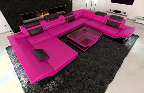 Design-Wohnlandschaft-XXL-ENZO-pink-schwarz-0