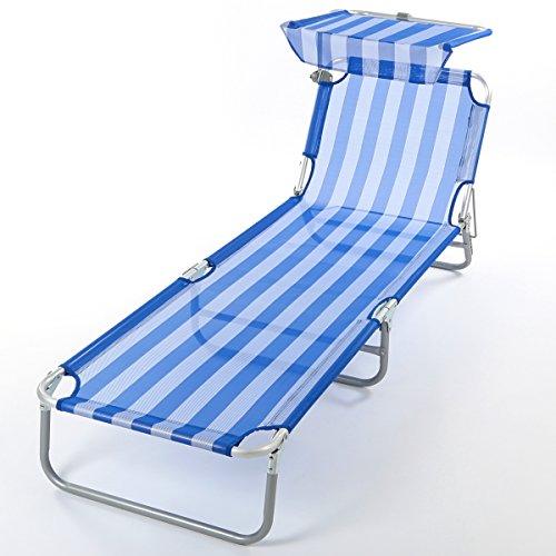 Dreibeinliege-Sonnenliege-Gartenliege-mit-Sonnendach-188-x-60-x-30cm-blau-wei-0