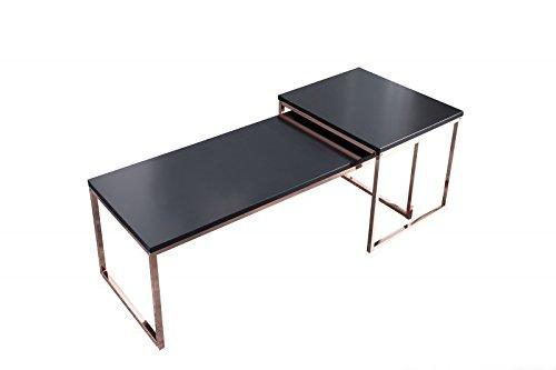 Dunord design couchtisch beistelltisch stage long 2er set for Tisch design for stage and film