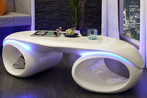 DuNord Design Couchtisch STREAM mit LED Beleuchtung