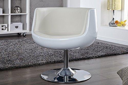 DuNord-Design-Sessel-Polsterstuhl-COCKPIT-wei-Retro-Design-Mbel-Lounge-Club-Kunstleder-Chrom-0