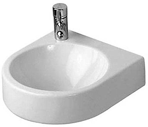 Duravit Handwaschbecken Architec 360 mm, ohne Überlaufloch, Hahnloch rechts, weiss, 0766350008