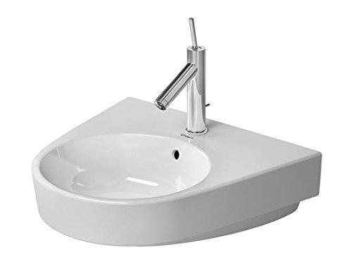Duravit Starck 2 Waschtisch weiß 550 mm, 550 x 500 mm, mit Wondergliss, 23235500301