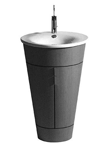Duravit Waschbecken Starck 1 58cm 1 Hahnloch, für WTU 9520, weiß WonderGliss 4065800001