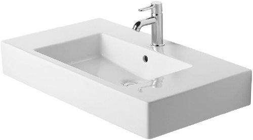 Duravit Waschbecken Vero 85cm weiß WonderGliss 3298500601
