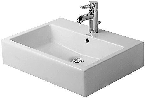 Duravit Waschbecken Vero Breite 60cm 1 Hahnloch geschliffen weiß 454600027