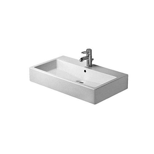 Duravit Waschbecken Vero Breite 80cm 1 Hahnloch geschliffen weiß 454800027