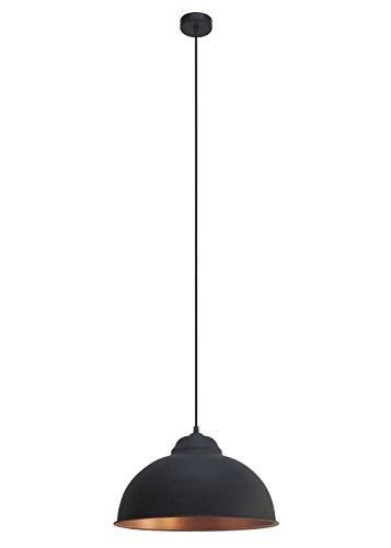 EGLO-49247-Hngeleuchte-Truro-Stahl-Durchmesser-37-cm-E27-Vintage-schwarz-kupfer-0