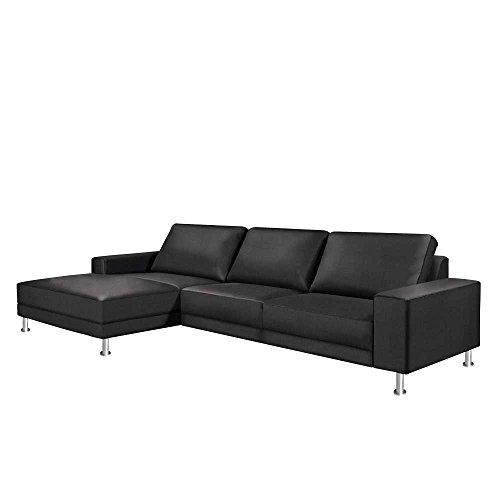 eckcouch in anthrazit mit stauraum kurzer schenkel links frontansicht ohne pharao24 0 m bel24. Black Bedroom Furniture Sets. Home Design Ideas